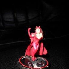 Figuras y Muñecos Marvel: MARVEL HEROCLIX , LA BRUJA ESCARLATA. Lote 30439454