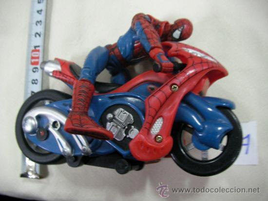 Spiderman y moto comprar figuras y mu ecos marvel en todocoleccion 106927480 - Spider man moto ...