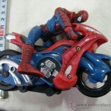 Figuras y Muñecos Marvel: SPIDERMAN Y MOTO. Lote 106927480