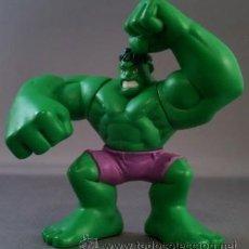 Figuras y Muñecos Marvel: FIGURA VENGADORES SUPERHERO SQUAD HULK VERDE. Lote 33382529