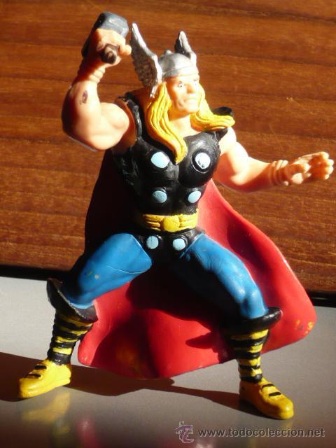 FIGURA MUÑECO THOR MARVEL 1996 YOLANDA GOMA (Juguetes - Figuras de Acción - Marvel)