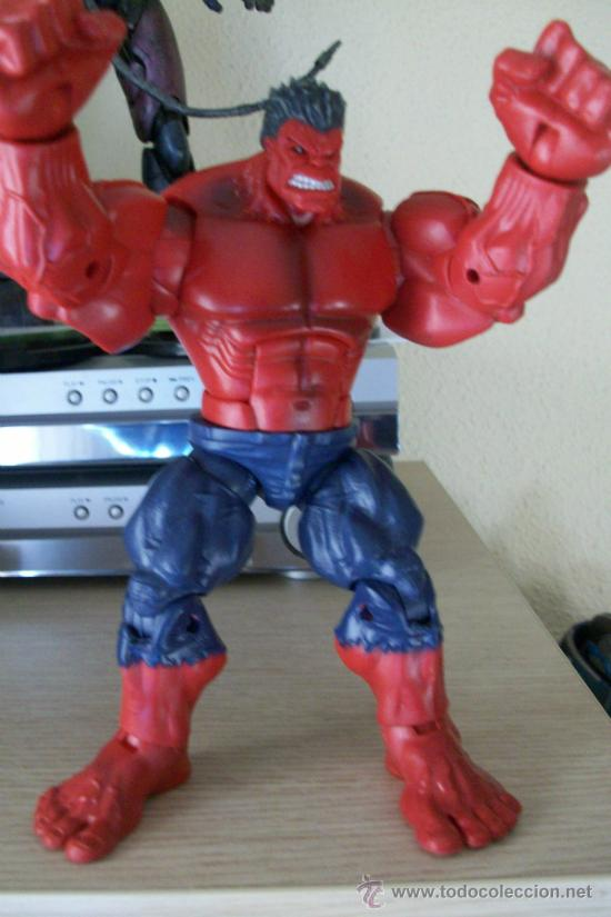 Figuras y Muñecos Marvel: FIGURA MARVEL LEGENDS BAF RED HULK - Foto 2 - 95328600