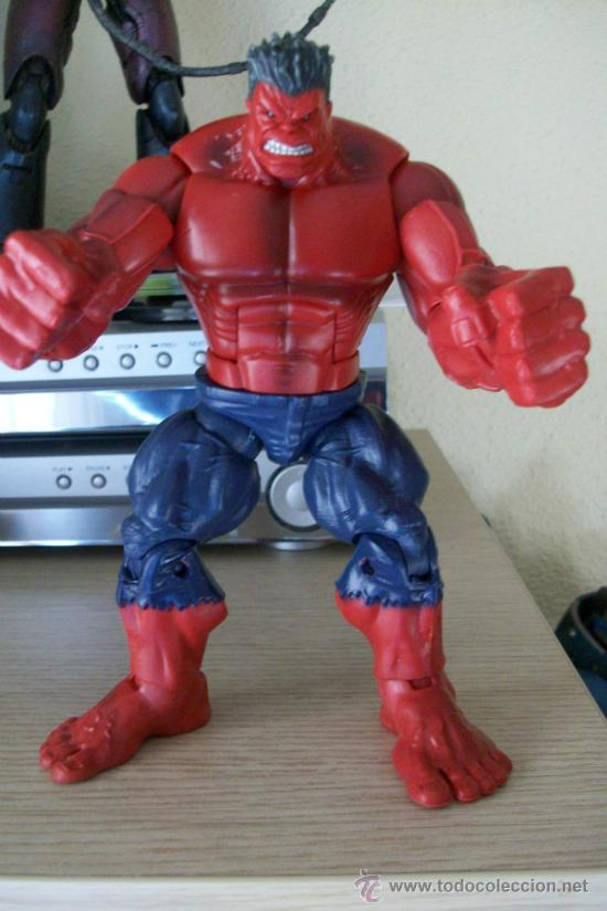 FIGURA MARVEL LEGENDS BAF RED HULK (Juguetes - Figuras de Acción - Marvel)