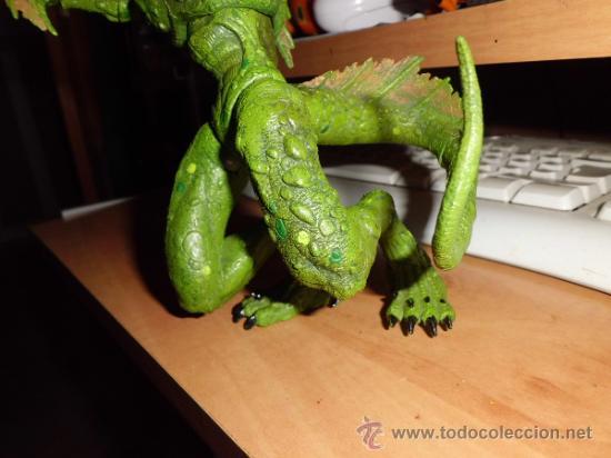 Figuras y Muñecos Marvel: figura articulada de lizardmen de marvel de coleccion - Foto 4 - 36645921