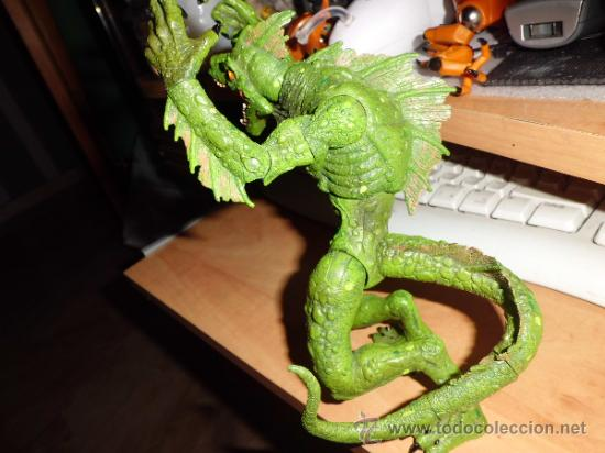 Figuras y Muñecos Marvel: figura articulada de lizardmen de marvel de coleccion - Foto 2 - 36645921