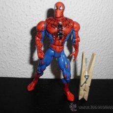 Figuras y Muñecos Marvel: MUÑECO FIGURA SPIDERMAN DE MARVEL SPIDER MAN 1998 TOY BIZ. Lote 37364250