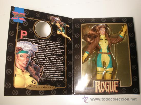 Figuras y Muñecos Marvel: MARVEL FAMOUS COVER ROGUE AÑOS 90 - Foto 2 - 37386392