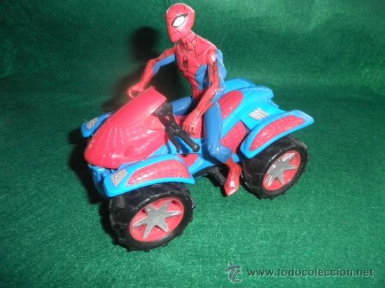 SPIDERMAN + QUAD 14 CM (Juguetes - Figuras de Acción - Marvel)