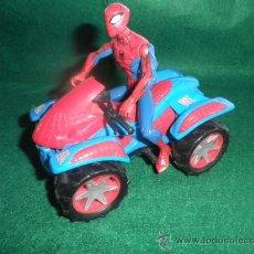 Figuras y Muñecos Marvel: SPIDERMAN + QUAD 14 CM. Lote 38962338