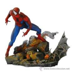 Figuras y Muñecos Marvel: SPIDERMAN ESTATUA GRAN CALIDAD MILESTONE RESINA EDICIÓN LIMITADA MUY RARA. Lote 39171677
