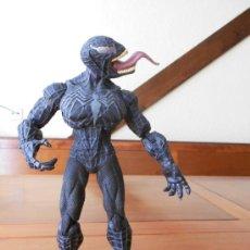 Figuras y Muñecos Marvel: SPIDERMAN NEGRO DE PVC ARTICULADO MARCA HASBRO (MARVEL COMICS). Lote 108145790