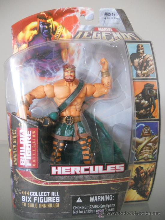 Marvel legends hercules  spiderman  vengadores  - Verkauft