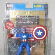 Figuras y Muñecos Marvel: MARVEL LEGENDS CAPITAN AMERICA. SPIDERMAN. VENGADORES. IRON MAN. DESCATALOGADA. AÑO 2002.. Lote 39251181