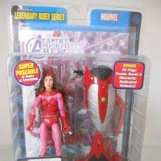 Figuras y Muñecos Marvel: MARVEL LEGENDS BRUJA ESCARLATA. SPIDERMAN. VENGADORES. X MEN. PATRULLA X. DESCATALOGADA. AÑO 2005.. Lote 39251568