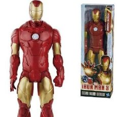 Figuras y Muñecos Marvel: IRON MAN MARVEL AVENGERS SERIE TITAN HASBRO 12´(30 CMS). Lote 39570465