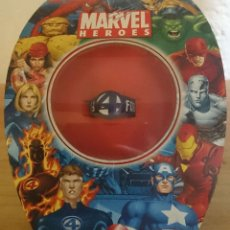 Figuras y Muñecos Marvel: MARVEL 4 FANTASTICOS ANILLO. Lote 40893610