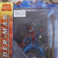 Figuras y Muñecos Marvel: MARVEL SELECT SPIDERMAN CON ESCENA. Lote 35376776