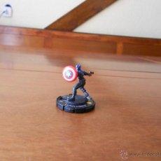 Figuras y Muñecos Marvel: HEROCLIX: CAPITÁN AMÉRICA ESCUDO REDONDO (MARVEL COMICS). Lote 42886001