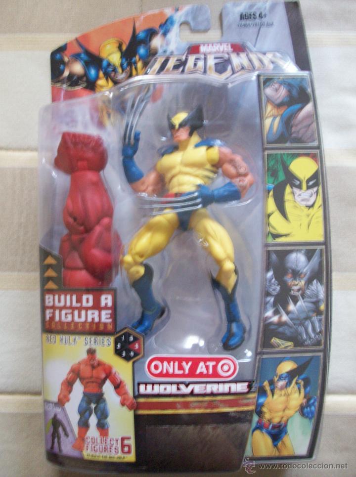 FIGURA LOBEZNO WOLVERINE MARVEL LEGENDS RED HULK SERIES BLISTER, SIMILAR DC UNIVERSE CLASSICS (Juguetes - Figuras de Acción - Marvel)