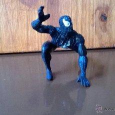 Figuras y Muñecos Marvel: FIGURA DE GOMA SPIDERMAN NEGRO MARVEL YOLANDA 1996. Lote 43804626
