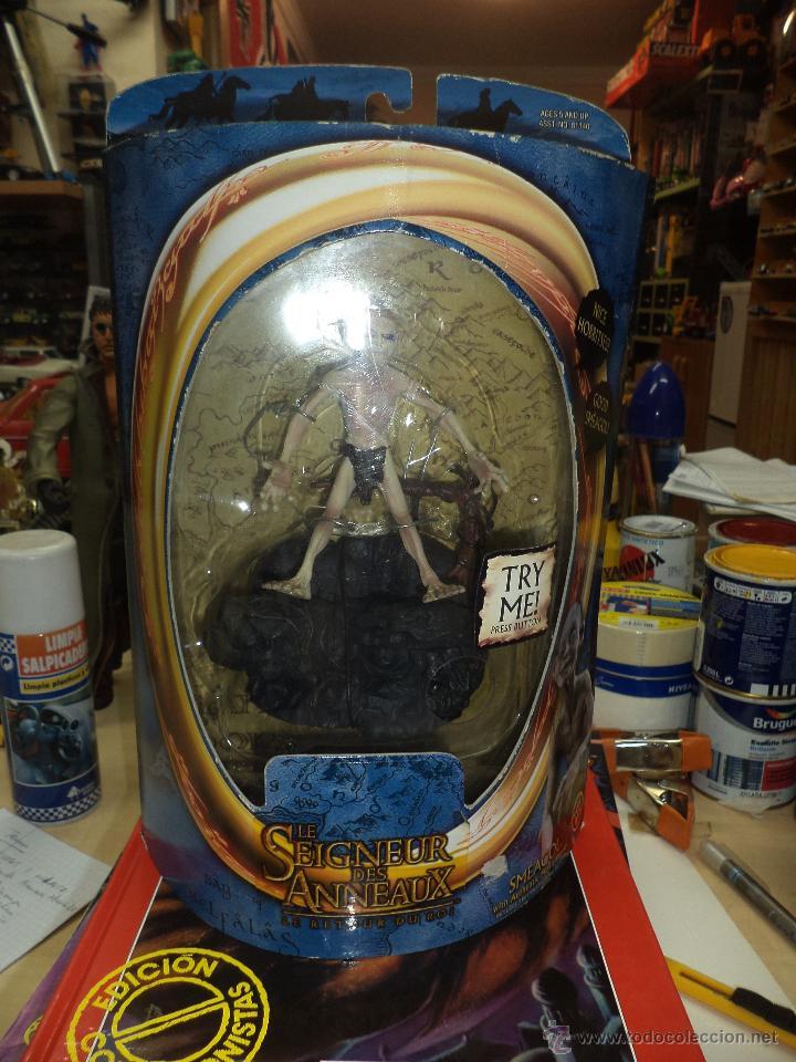 GOLUM - EL SEÑOR DE LOS ANILLOS MARVEL 2003-TOY BIZ (Juguetes - Figuras de Acción - Marvel)
