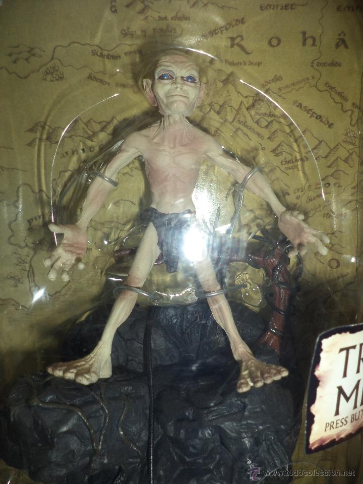 Figuras y Muñecos Marvel: Golum - El Señor de los anillos Marvel 2003-Toy Biz - Foto 2 - 156966006