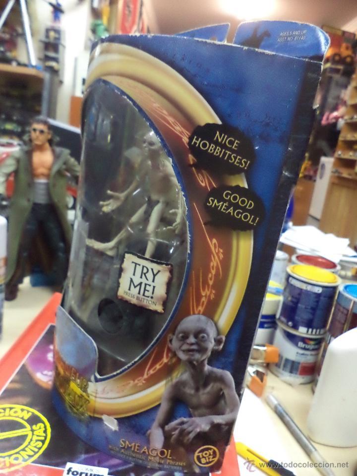 Figuras y Muñecos Marvel: Golum - El Señor de los anillos Marvel 2003-Toy Biz - Foto 3 - 156966006