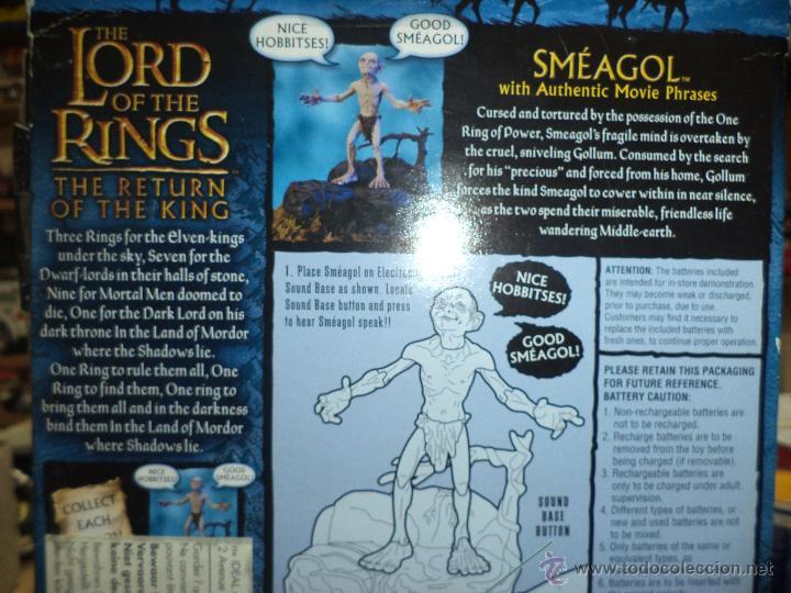 Figuras y Muñecos Marvel: Golum - El Señor de los anillos Marvel 2003-Toy Biz - Foto 5 - 156966006
