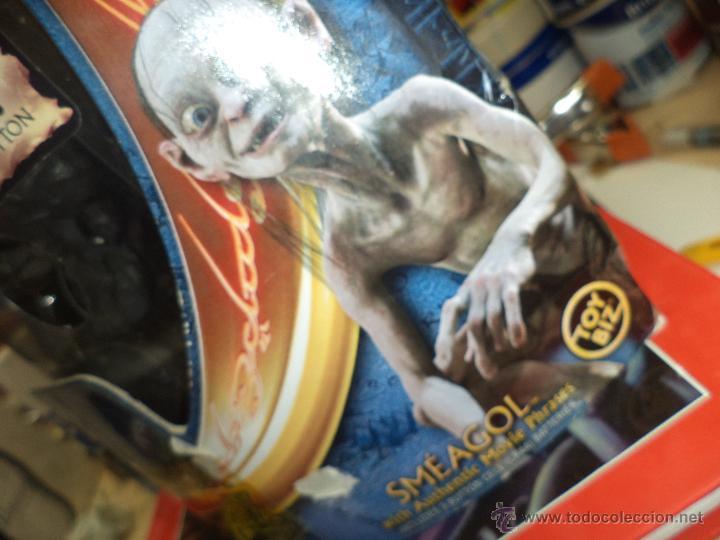 Figuras y Muñecos Marvel: Golum - El Señor de los anillos Marvel 2003-Toy Biz - Foto 8 - 156966006