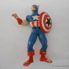 Figuras y Muñecos Marvel: FIGURA DE GOMA CAPITAN AMERICA 9 CM. Lote 45010115