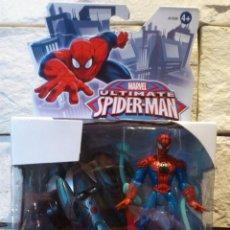 Figuras y Muñecos Marvel: ULTIMATE SPIDERMAN - COCHE DE CARRERAS SPIDERMAN - MARVEL - HASBRO - 2012 - BLISTER - NUEVO. Lote 45941985