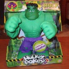 Figuras y Muñecos Marvel: HULKEY POKEY HULK,MARVEL,HASBRO,CAJA ORIGINAL,2008,A ESTRENAR,FUNCIONANDO. Lote 173133680