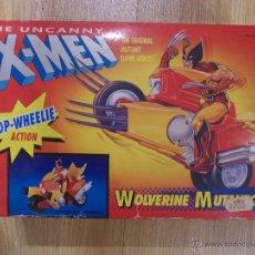 Figuras y Muñecos Marvel: X MEN-PATRULLA X-LOBEZNO MOTOCICLETA-TOY BIZ-SIN ABRIR-1991-WOLVERINE MUTANTCYCLE-MARVEL. Lote 47280314