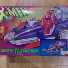 Figuras y Muñecos Marvel: X MEN-PATRULLA X-MAGNETO COCHE-TOY BIZ-SIN ABRIR-1991-MAGNETO MAGNETRON-MARVEL. Lote 47280369