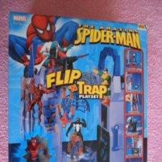 Figuras y Muñecos Marvel: THE AMAZING SPIDERMAN FLIP 'N TRAP PLAYSET 2006 TOY BIZ 71850 MARVEL. Lote 47631719
