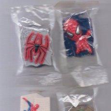 Figuras y Muñecos Marvel: SPIDER-MAN SPIDERMAN WEB DISC SHOOTERS COLECCIÓN COPLETA NESTLE 2002. Lote 47880409