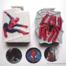 Figuras y Muñecos Marvel: SPIDER-MAN SPIDERMAN WEB DISC SHOOTERS NESTLE 2002. Lote 47880473