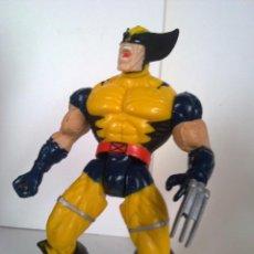 Figuras y Muñecos Marvel: MARVEL LOBEZNO INFERNO CON SU PRIMER TRAJE DESTROZA CENTINELAS X MEN PATRULLA X . Lote 120130902
