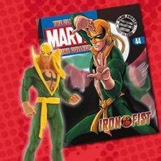 Figuras y Muñecos Marvel: FIGURA PLOMO EAGLEMOSS 44 - MARVEL - IRON FIST - PUÑO DE HIERRO - CON REVISTA - SIN CAJA. Lote 48153661