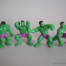 Figuras y Muñecos Marvel: THE HULK LOTE DE FIGURAS DE PVC DE 5 CMS MARVEL 2003. Lote 48343357