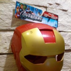 Figuras y Muñecos Marvel: MASCARA - IRON MAN - MARVEL- HASBRO - AVENGERS - 2011 - NUEVO - PRODUCTO OFICIAL - SIN ABRIR. Lote 48627545