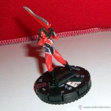 Figuras y Muñecos Marvel: MINIATURA MINIATURE WIZKIDS GAMES HEROCLIX PIECE FIGURA RED SHE-HULK MARVEL.. Lote 48976991