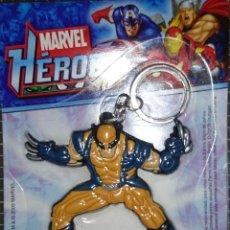 Figuras y Muñecos Marvel: WOLWERINE LOBEZNO LLAVERO PANNINI 2009. Lote 49290319