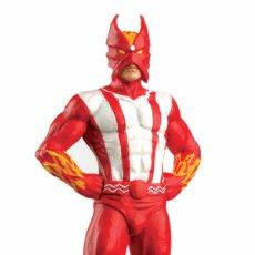 Figuras y Muñecos Marvel: EAGLEMOSS. MARVEL. FUEGO SOLAR. SUNFIRE. PLOMO..NUEVA Y EN SU BLISTER ORIGINAL.. Lote 277827138
