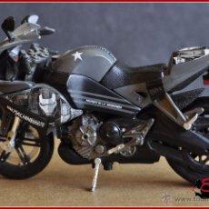 Figuras y Muñecos Marvel: MARVEL - MAISTO 2010 - IRON MAN MOTORCYCLE WAR MACHINE. Lote 51003154
