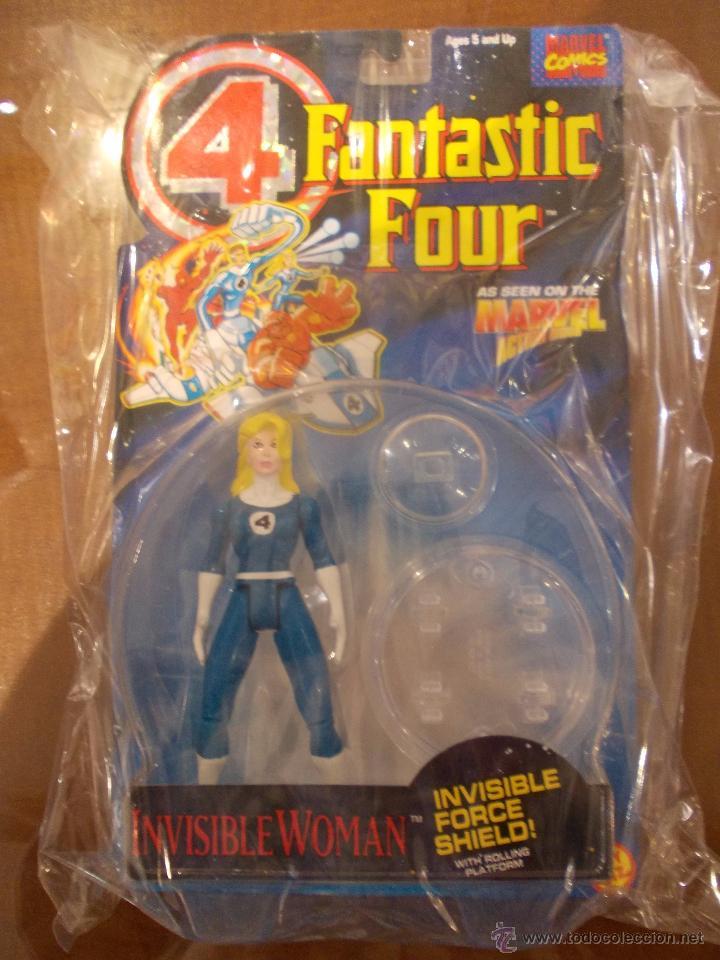 4 FANTASTICOS-MUJER INVISIBLE-TOY BIZ-AÑO 1995-PERFECTO BLISTER SIN ABRIR- (Juguetes - Figuras de Acción - Marvel)