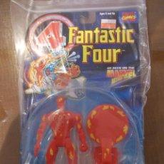 Figuras y Muñecos Marvel: 4 FANTASTICOS-ANTORCHA HUMANA-TOY BIZ-AÑO 1995-PERFECTO BLISTER SIN ABRIR-. Lote 51154394