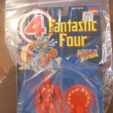 Figuras y Muñecos Marvel: 4 FANTASTICOS-ANTORCHA HUMANA-TOY BIZ-AÑO 1995-PERFECTO BLISTER SIN ABRIR-. Lote 51154465