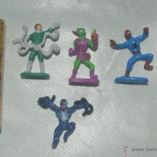 Figuras y Muñecos Marvel: LOTE DE MINIATURAS MARVEL DUENDE VERDE SPIDERMAN OCTOPUS . Lote 51157210
