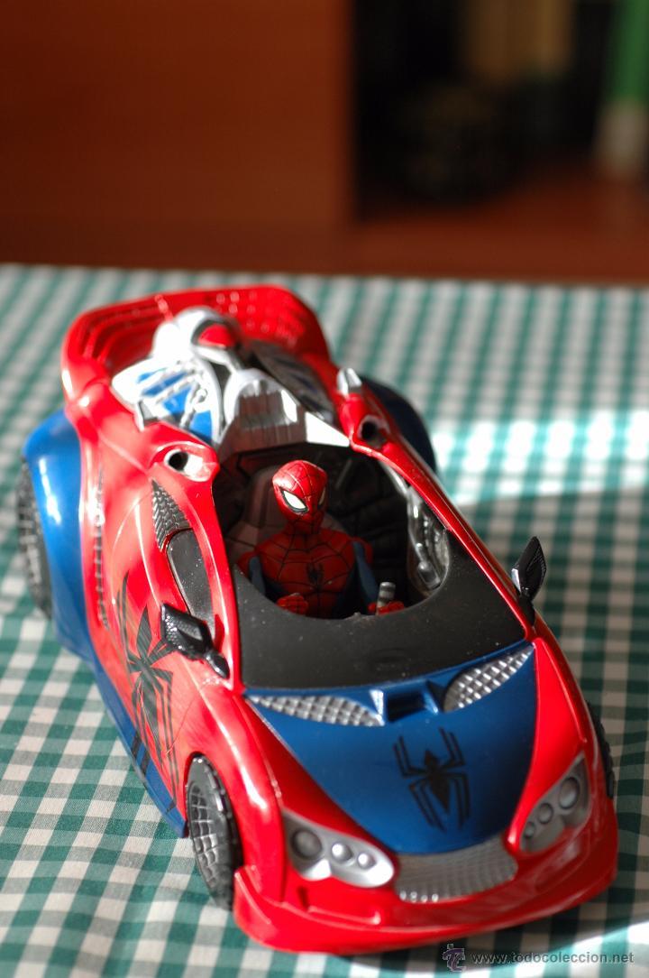 COCHE DE SPIDERMAN, MARVEL CON FIGURA THE ANIMATED SERIES (Juguetes - Figuras de Acción - Marvel)